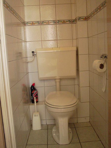 toilet beneden | Toilette Parterre | toilet ground floor